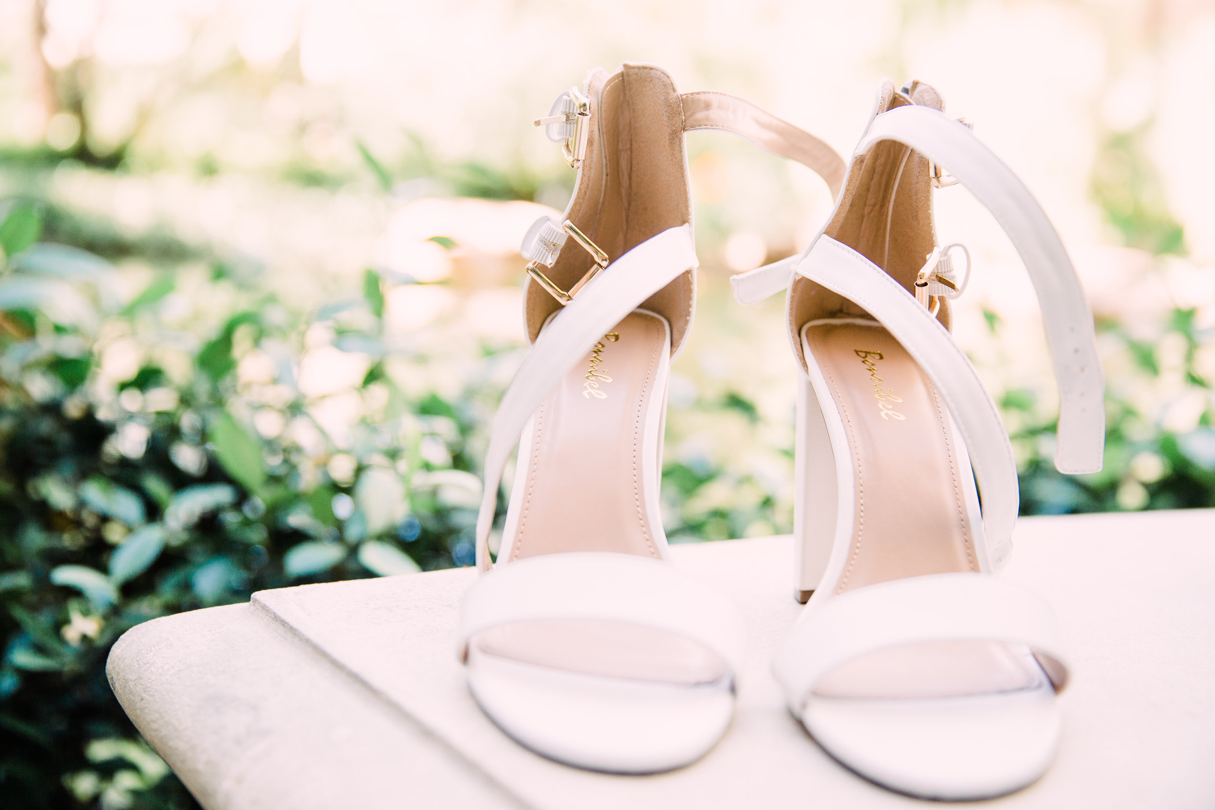 Beautiful Shoes for Las Vegas Wedding