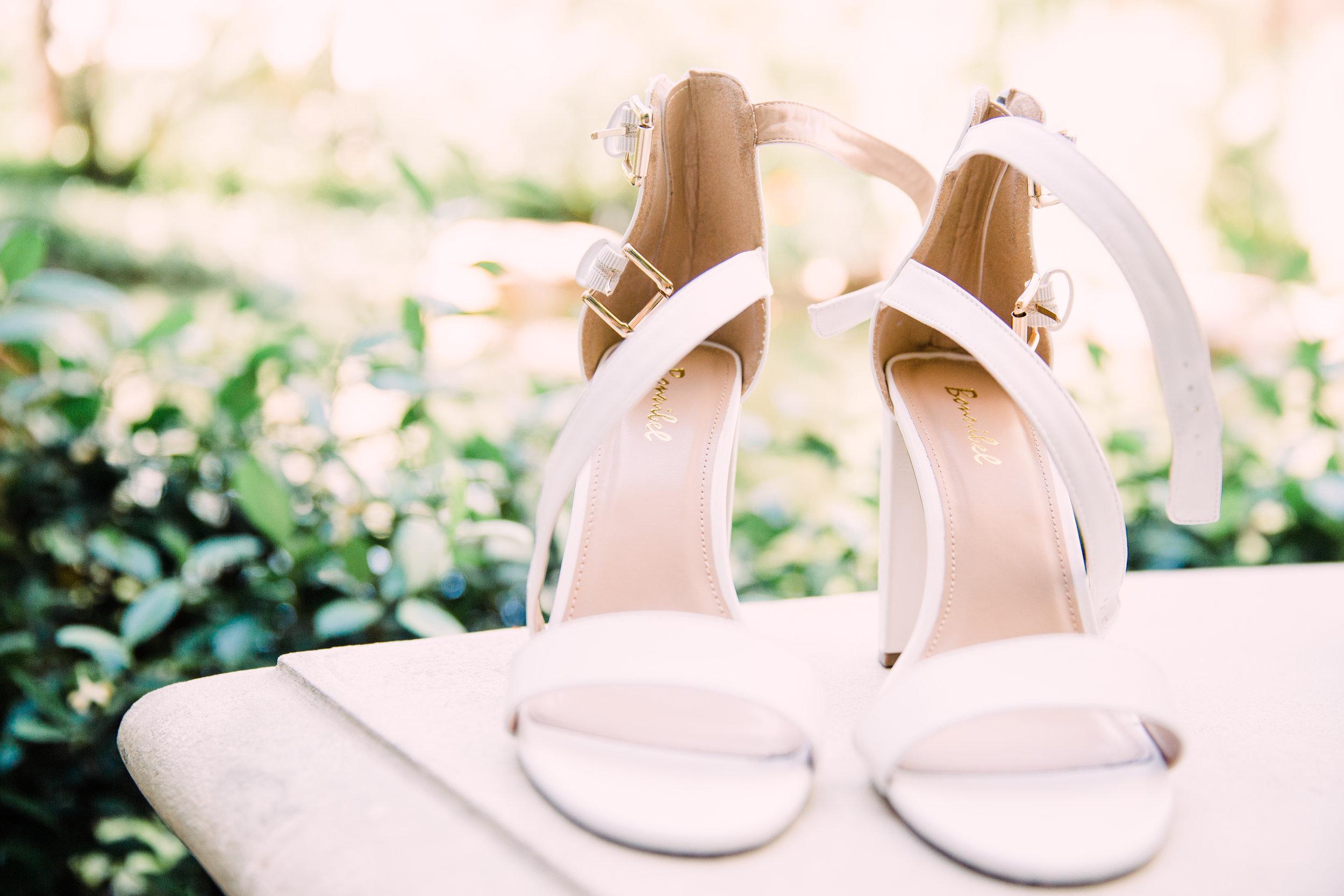 Beautiful Shoes for Las Vegas Wedding