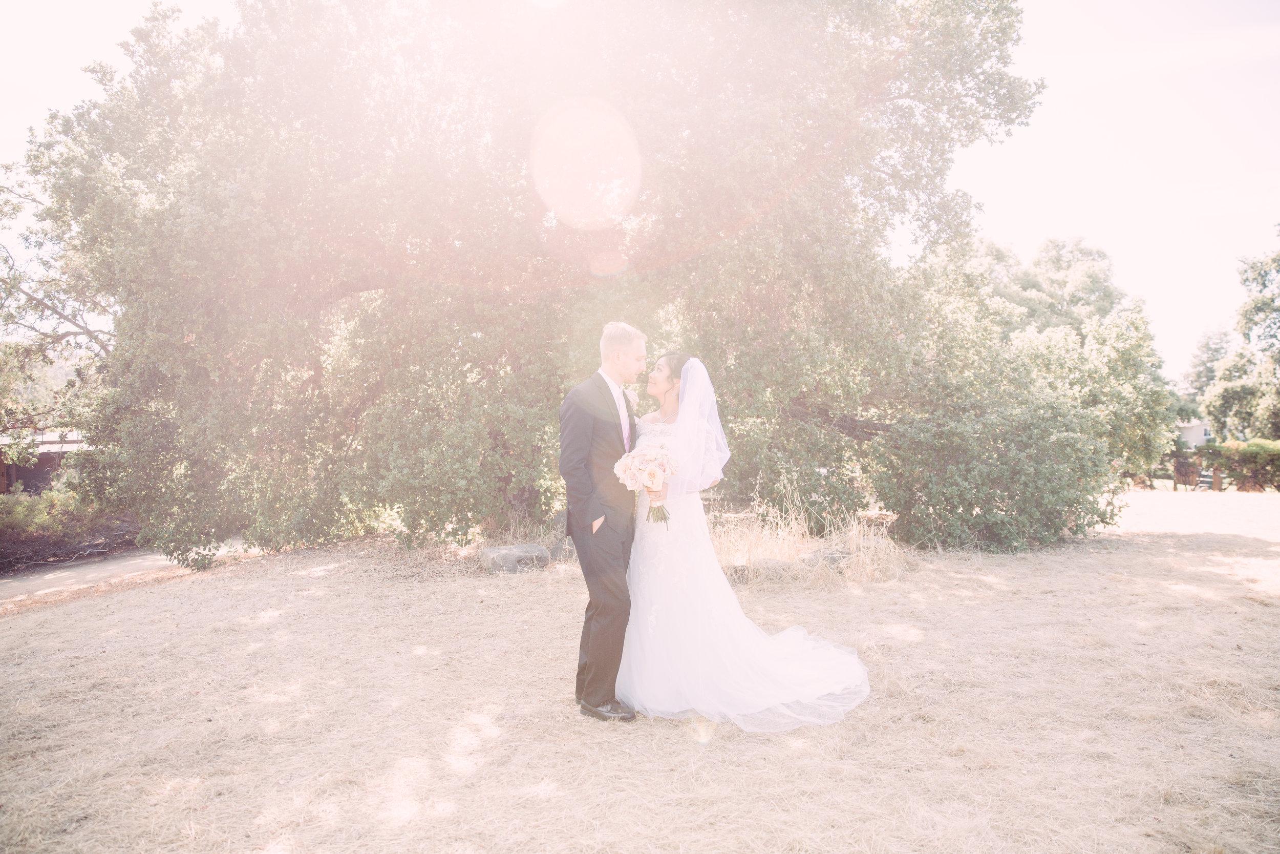Bay Area wedding inspo foothills preserve