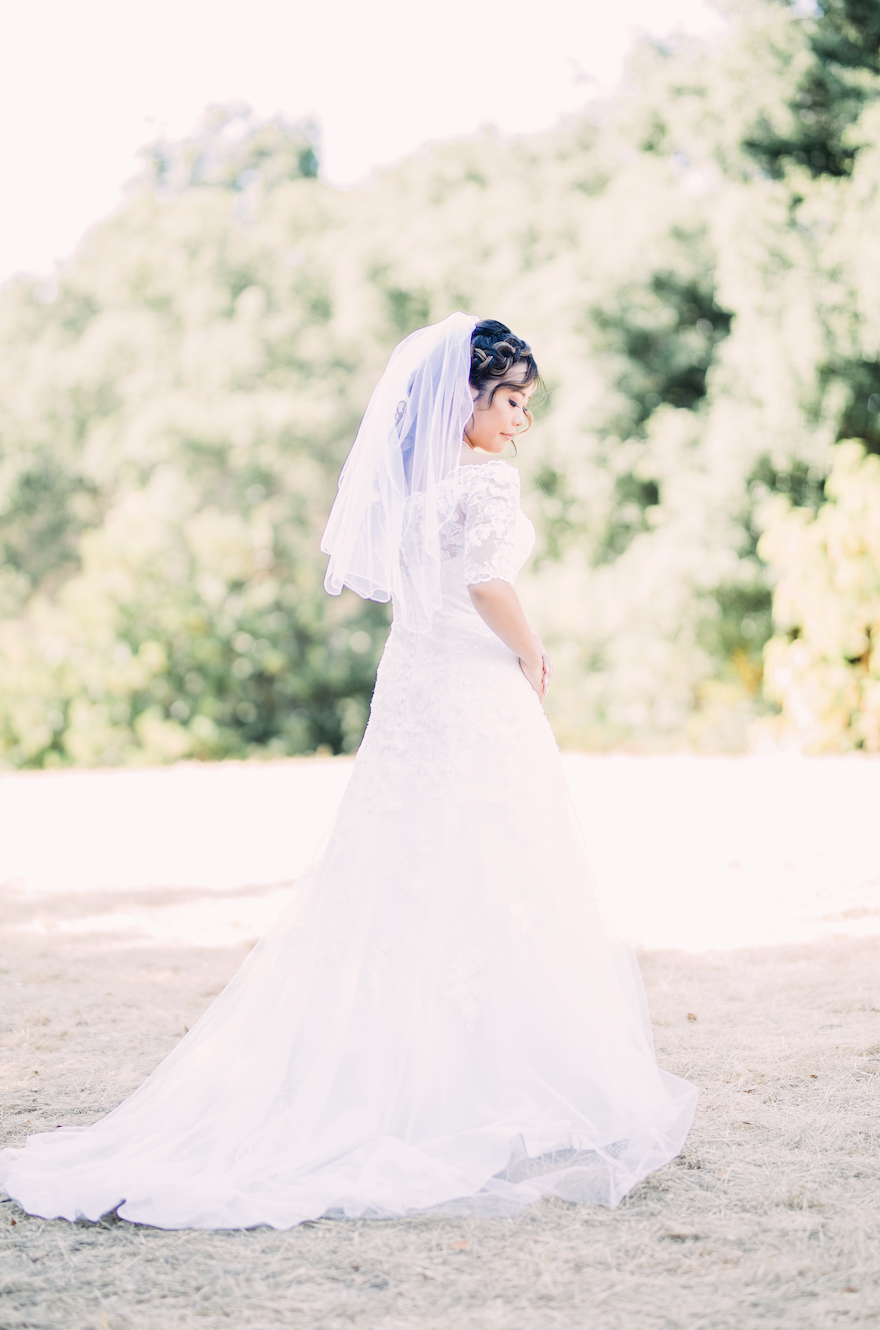 bridal portrait Bay Area
