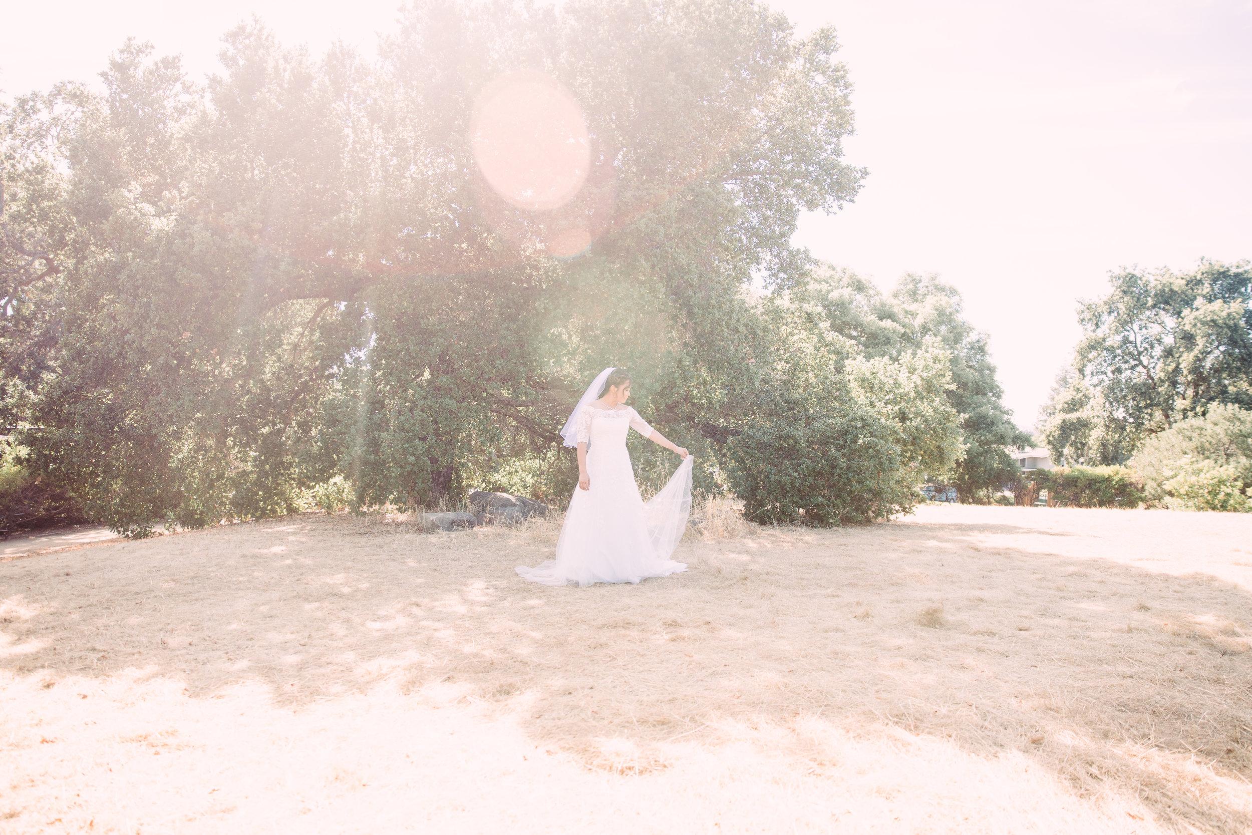 Bay Area bridal portrait
