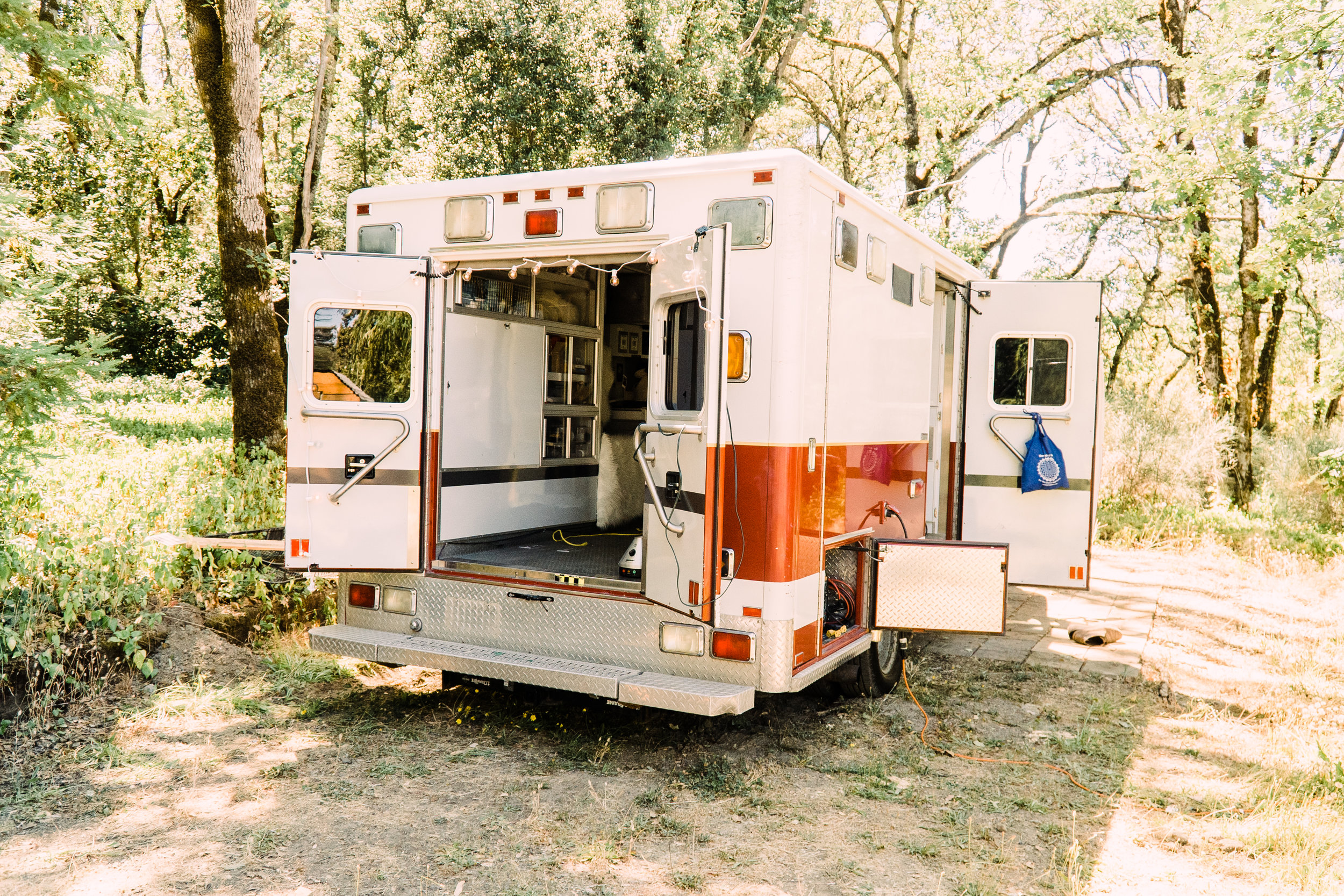 Unique converted Ambulance RV