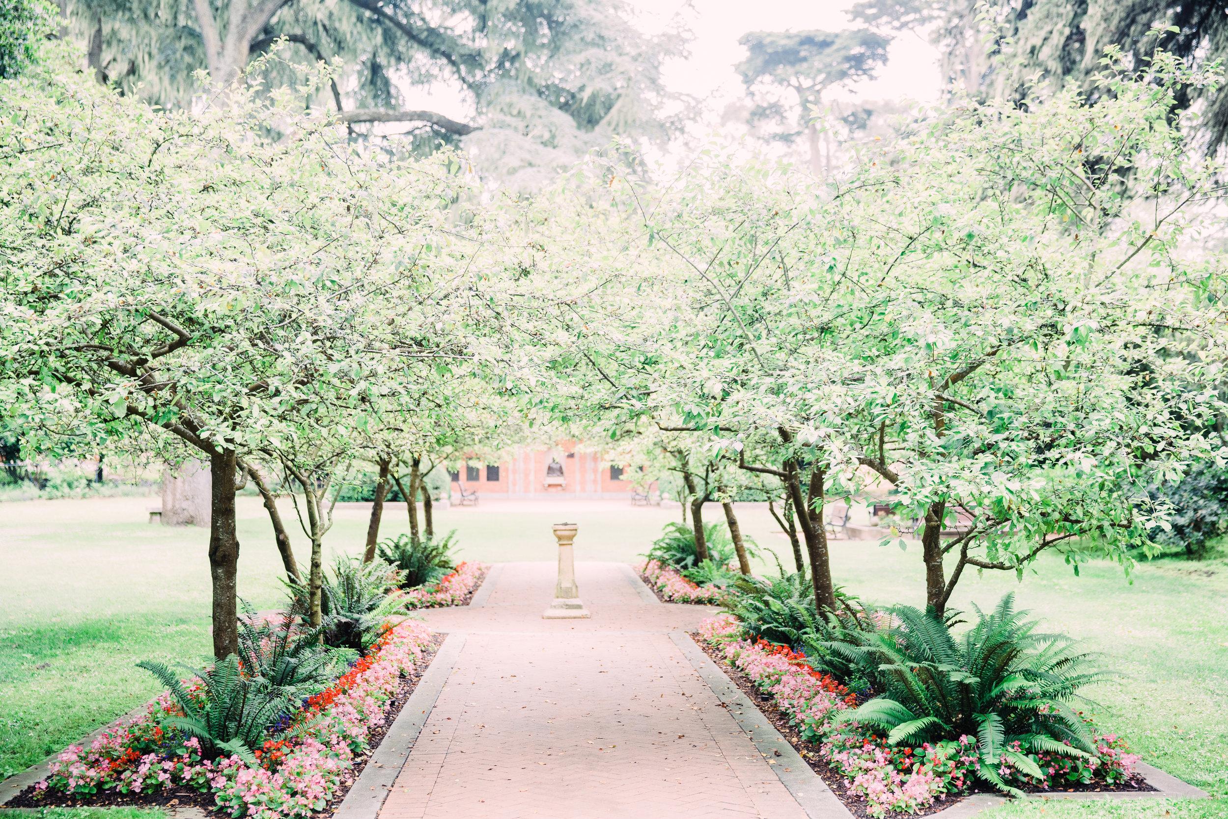 garden wedding venue Bay Area