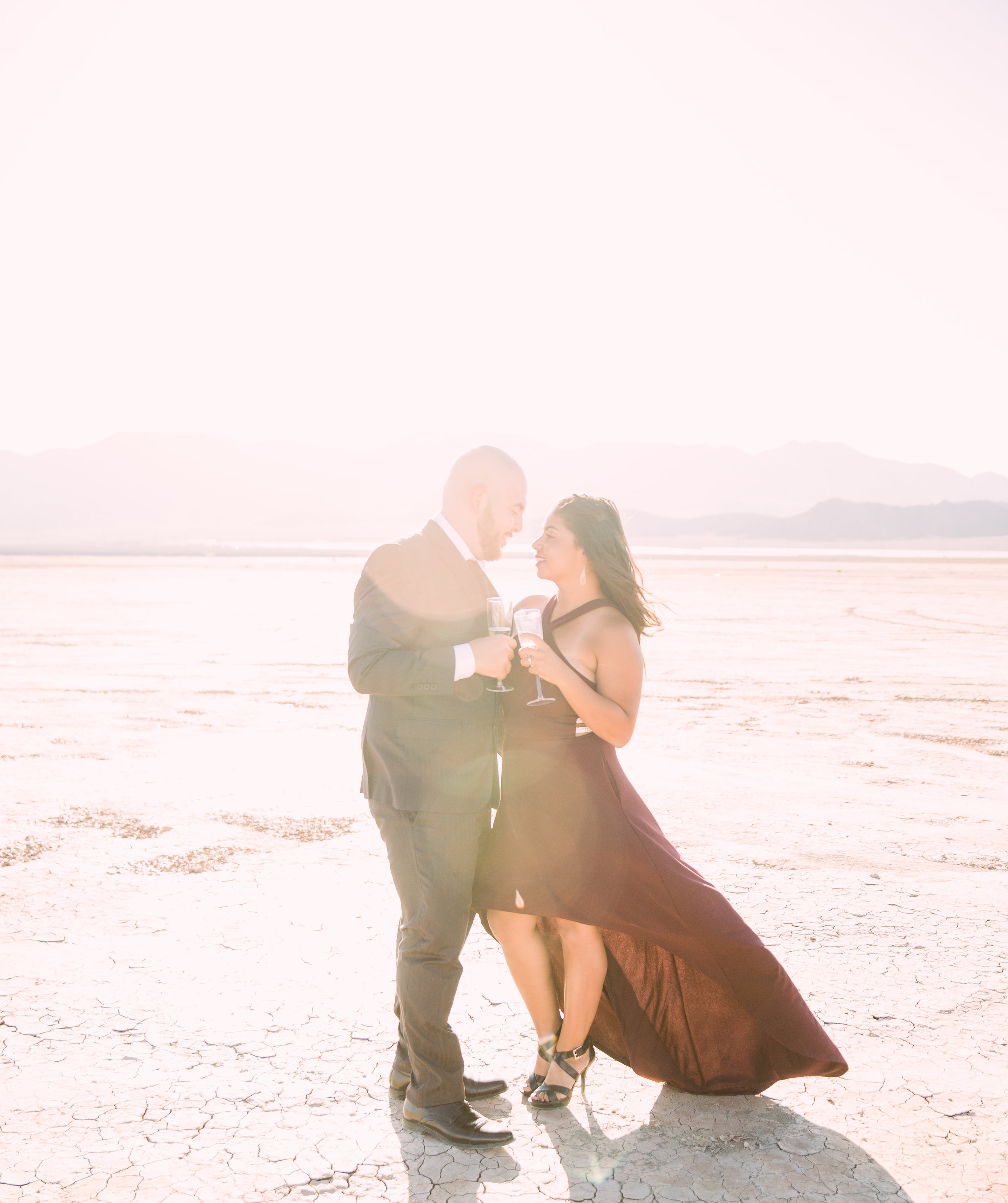 Las Vegas engagement ideas