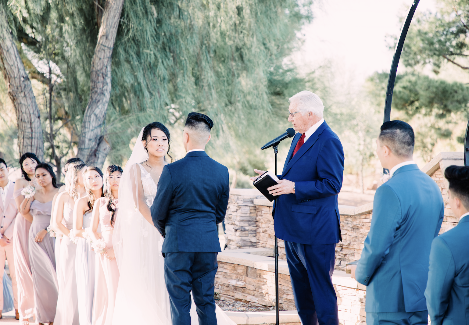 Golf Course Wedding Las Vegas