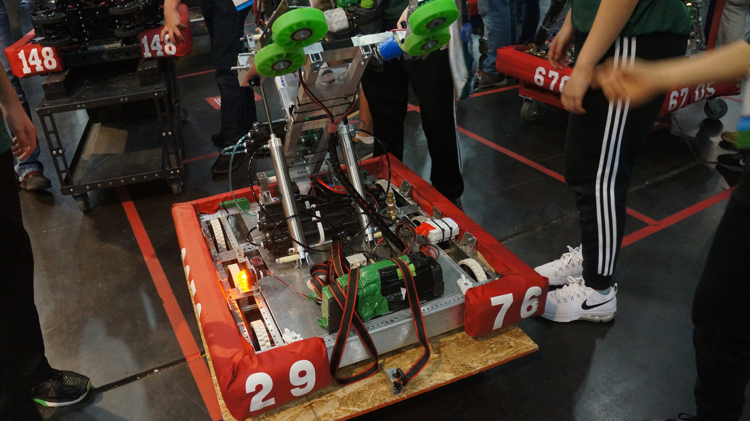 The robot used at the championship