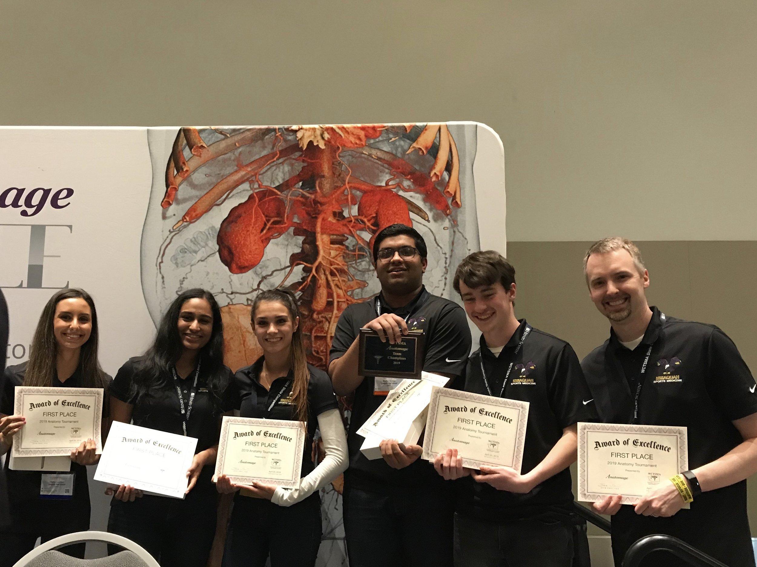 Anatomage Team Champions