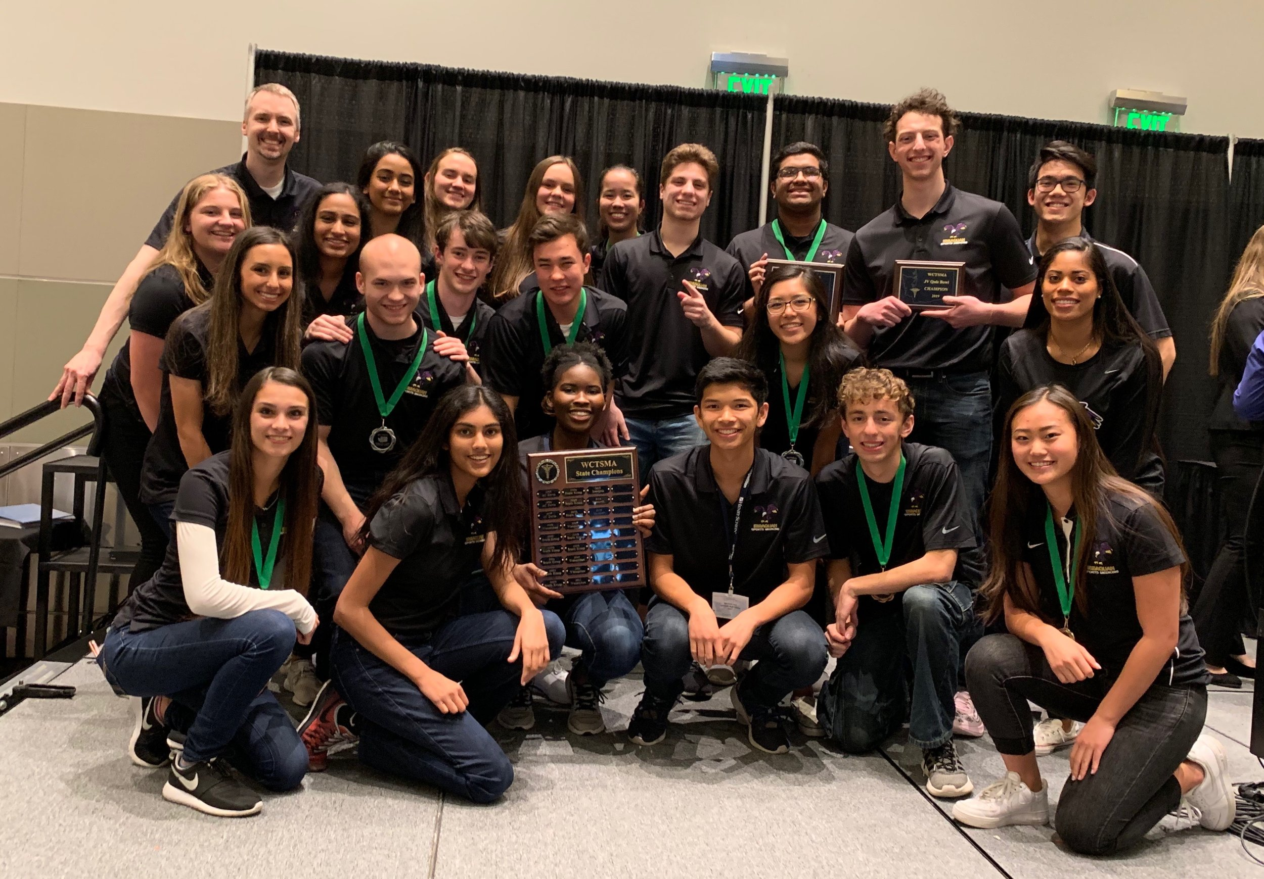 2019 Issaquah High School WCTSMA State Champions