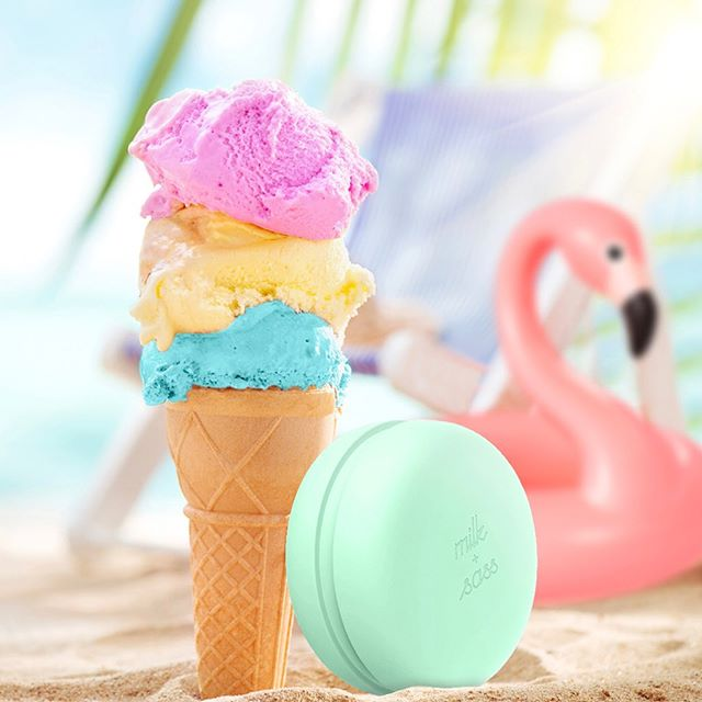 Mint-Flamingo Treat!!! Order your Macaron Travel Hairbrush today and get 15% Off + Free Shipping. 🍦🏖 Use Promo Code: SUMMER15. Valid until July 7. US shipping only. Web Link in our bio. #summervibes #flamingo #mintlove #beach #californiadreaming