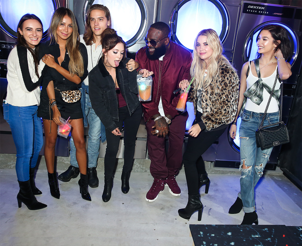 event wrangling - Olivia Perez, SincerelyJules, Dylan Sprouse, Billie Lourde, Rick Ross, Ashley Benson, Amanda Steele for American Eagle