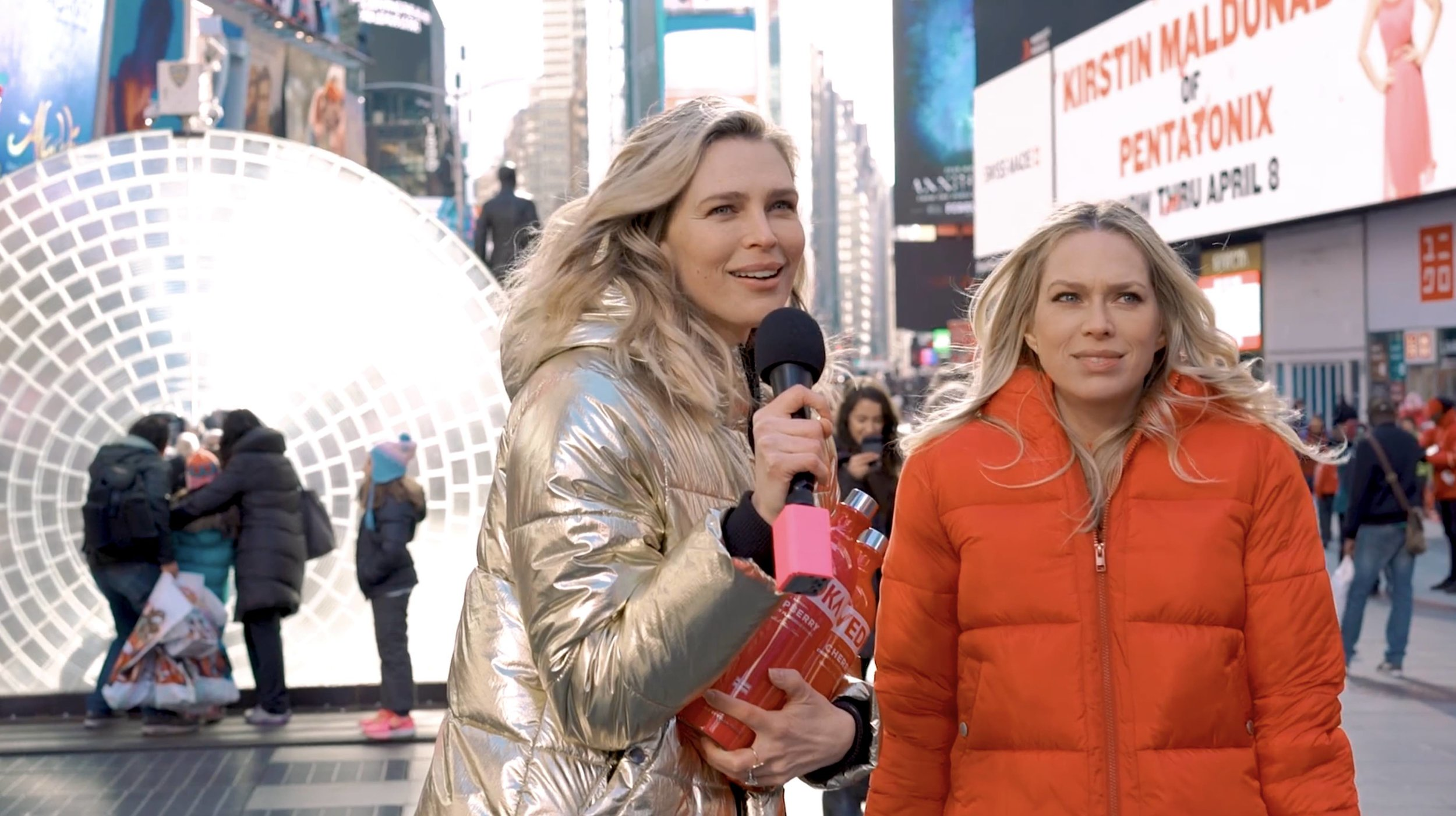 video content - Erin and Sara Foster Prep for Valentine's Day with SVEDKA Vodka