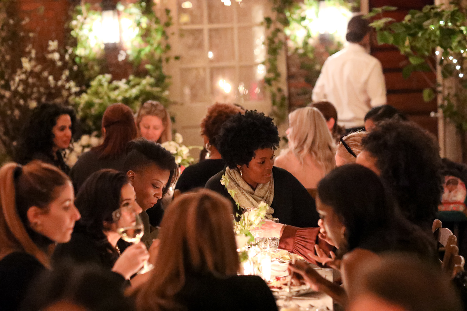 #aerieREAL campaign launch dinner -