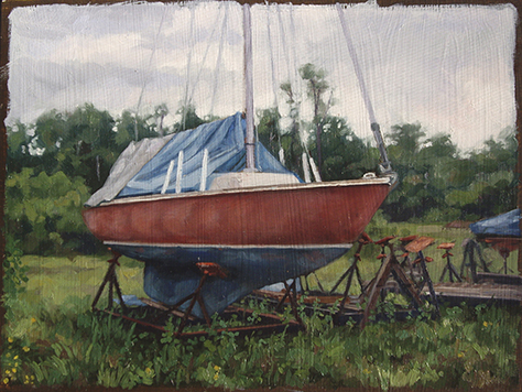 oil on panel, 9 x 12, SOLD