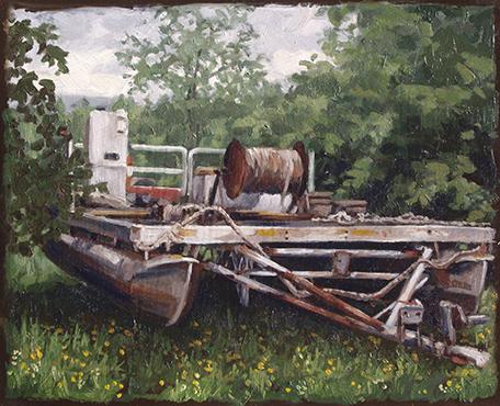 oil on panel, 8 x 10, $500 framed