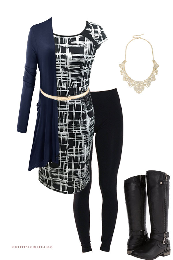 dress and boots 218