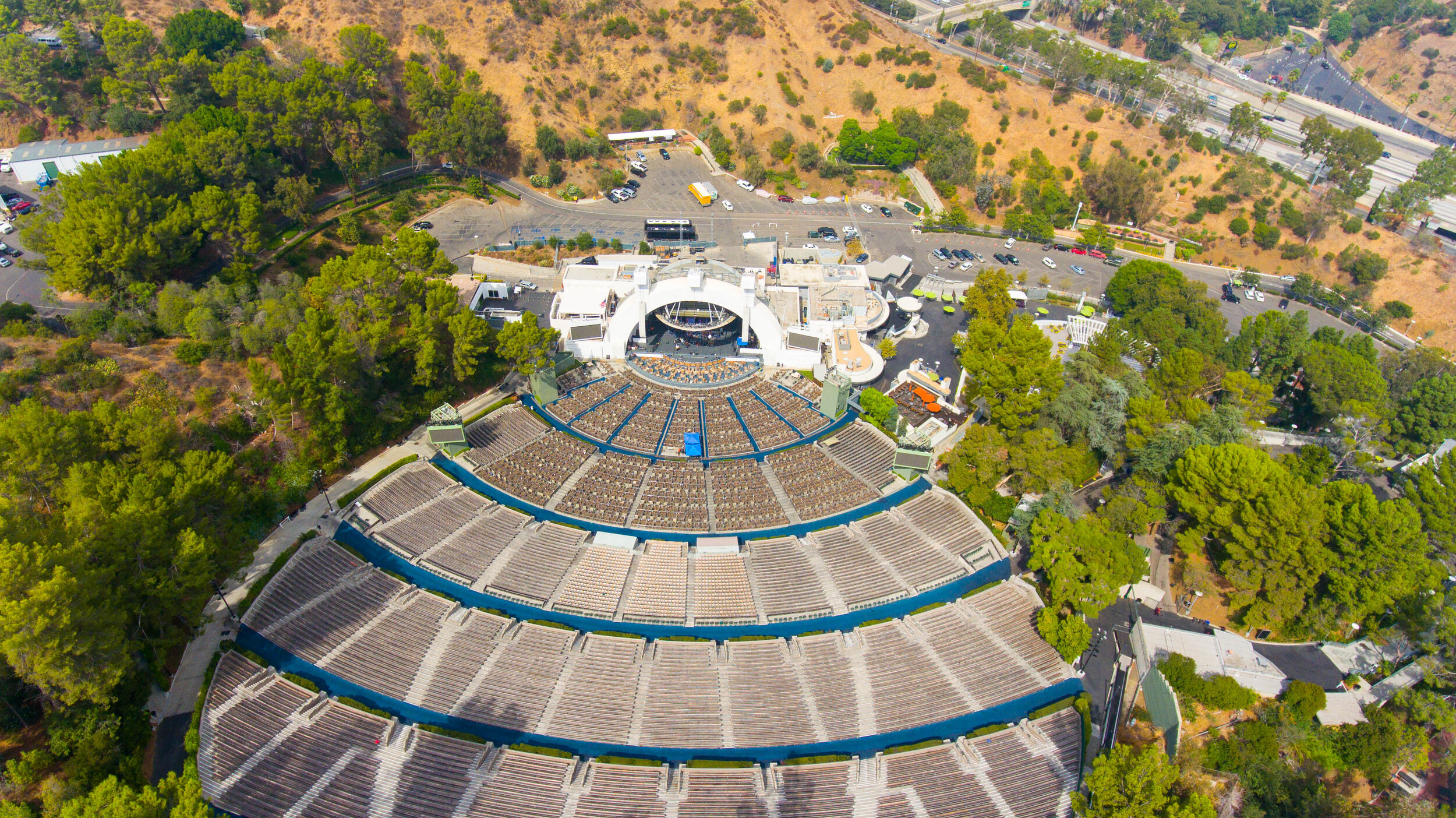 Ten minute walk to the Hollywood Bowl
