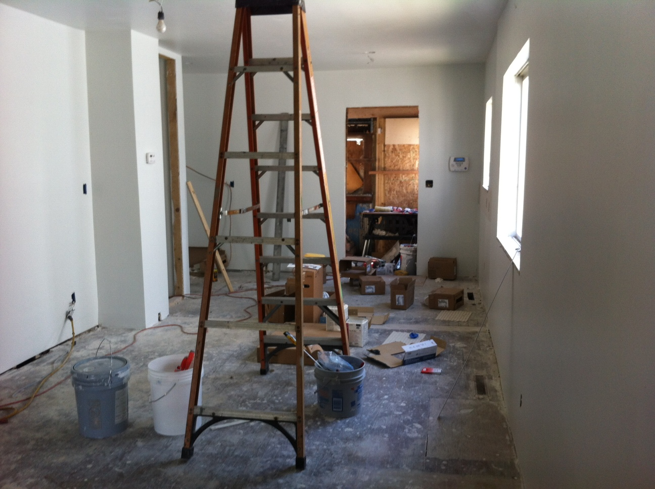 this is what my house looked like the first time I was inside it.