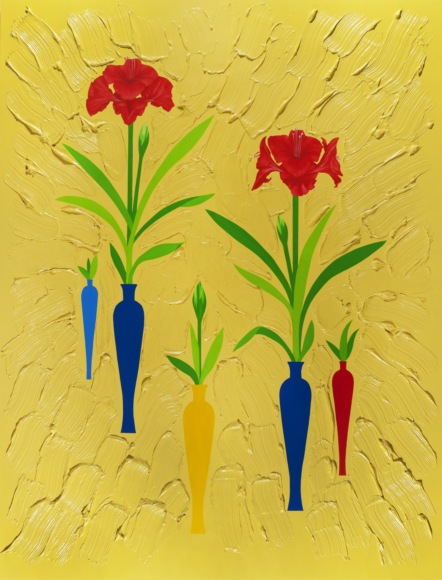 The Primaries: Yellow Amaryllis