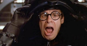 Trump isn't Hitler. Trump is Rick Moranis from  Space Balls .