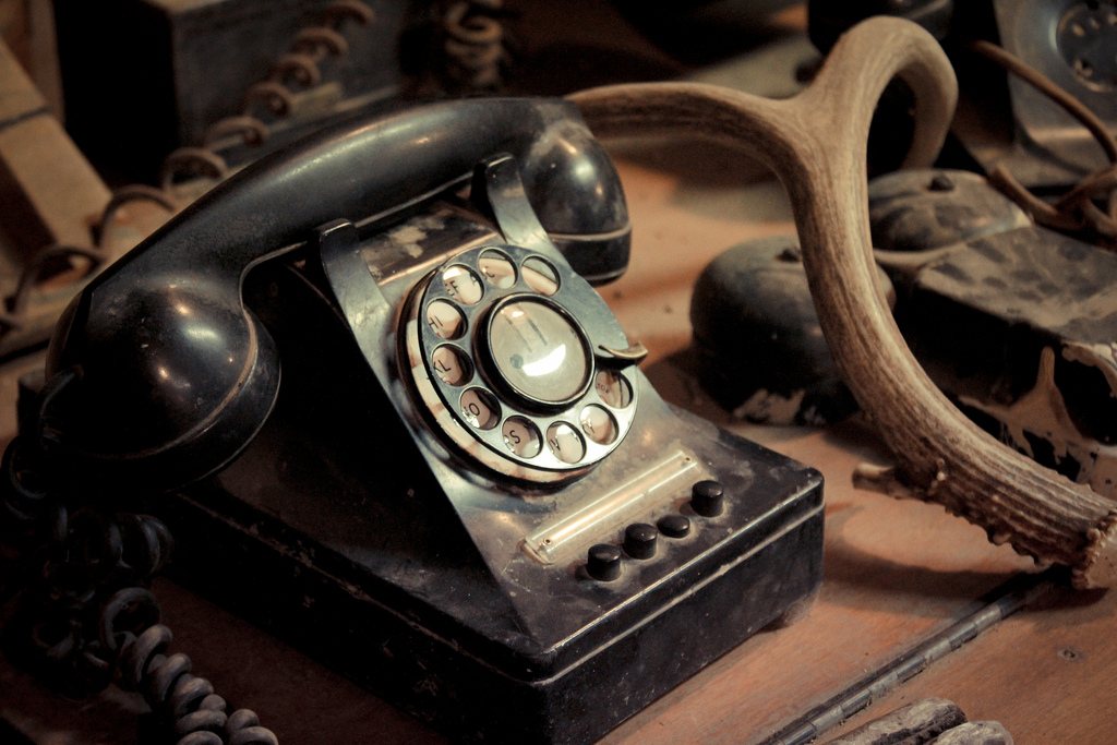 Eventually, we all become an unnecessary rotary phone in a world of digital technology...