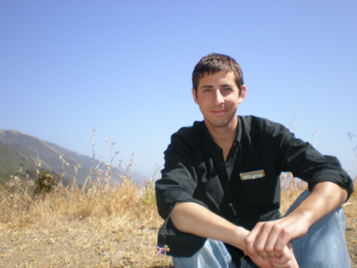 The author, a decade ago, somewhere along the California Coast before things went wrong.