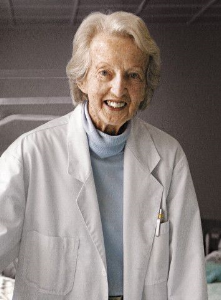 Catherine Hamlin, Australian OBGYN; gives free medical care to poor, abandoned Ethiopian women.