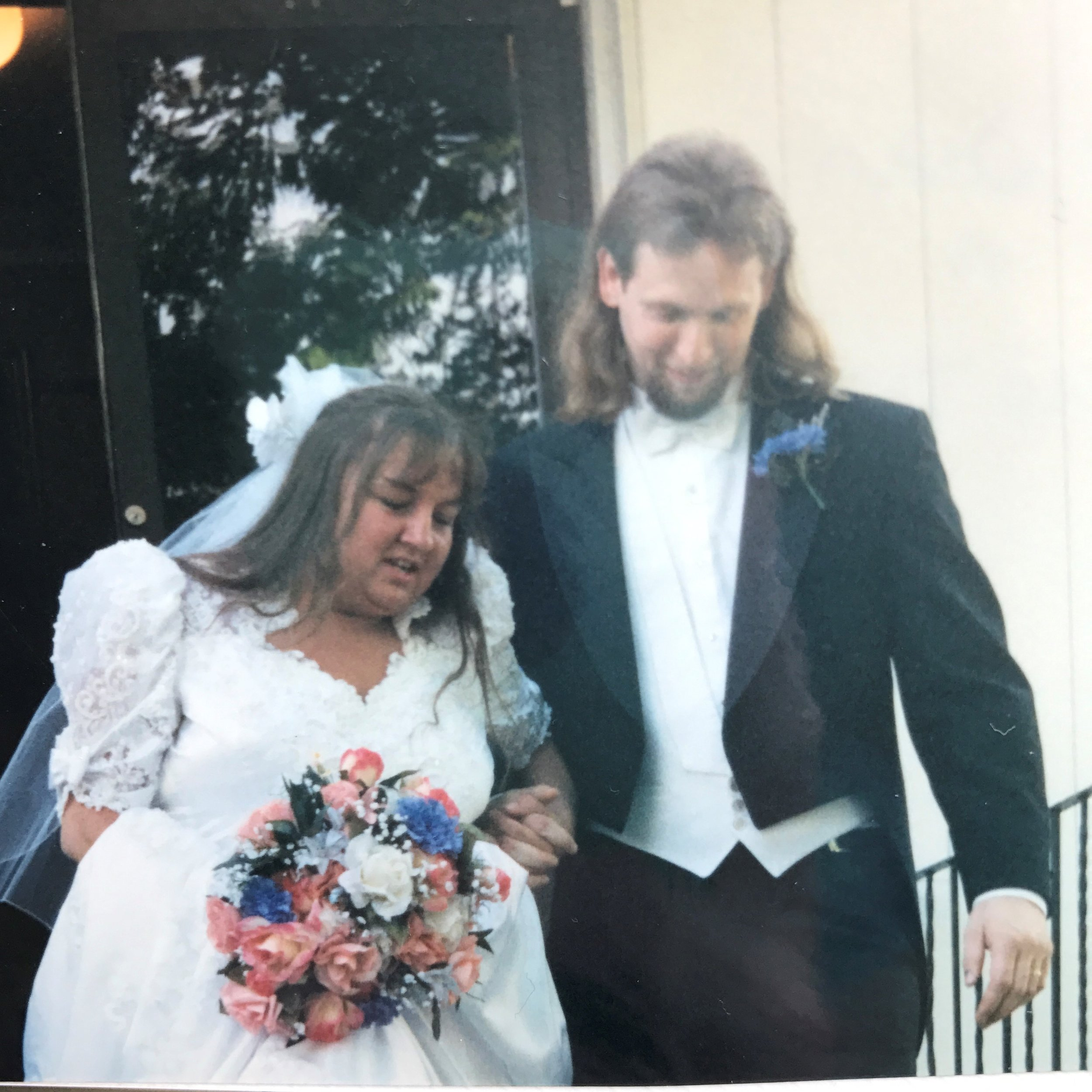 My blissfully happy parents 1997