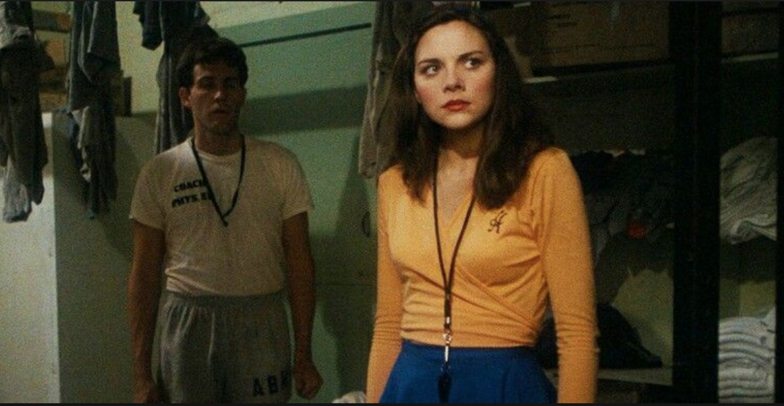 Yes. That's a young Kim Cattrall in what I'm sure she sees as one of her finest moments…