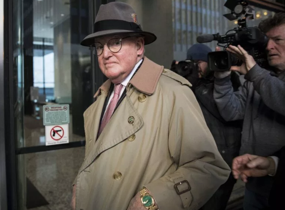 Chicago machinist, Ald. Ed Burke doing the Chicago Indictment Shuffle. This is more popular than the Super Bowl Shuffle ever dreamt of being.
