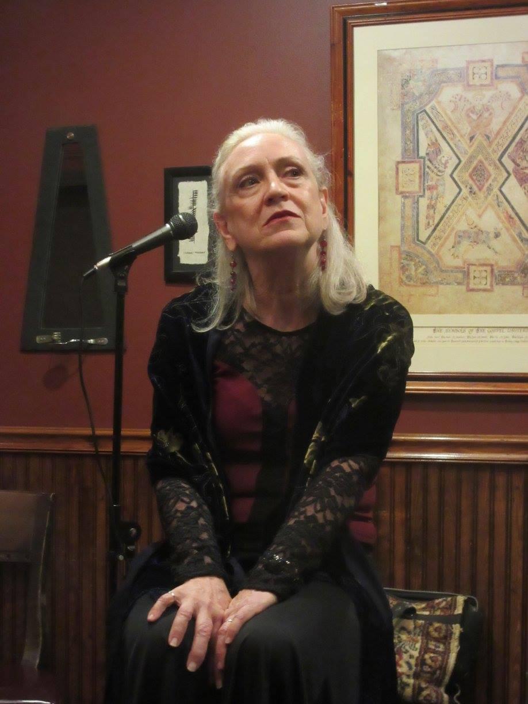 Barbara Button as Molly Bloom.