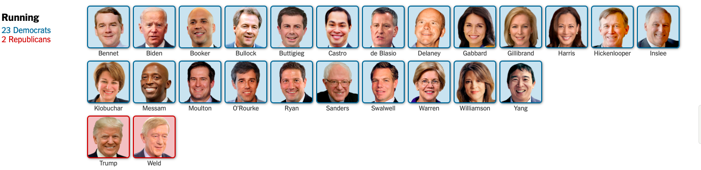 The Democrats — There's got to be someone you like, right?