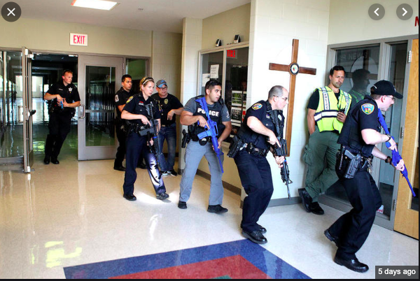Active shooter spring training.