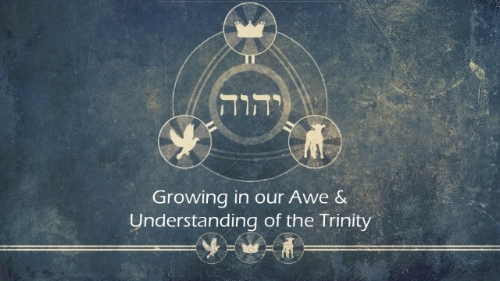 Fall 2018 - Do Christians serve one God or three Gods? It is a question that is fundamental to the Christian faith. We serve one triune God and this series takes a brief look at God the Father, God the Son, and God the Holy Spirit. We hope this helps you grow in your awe and understanding of God!