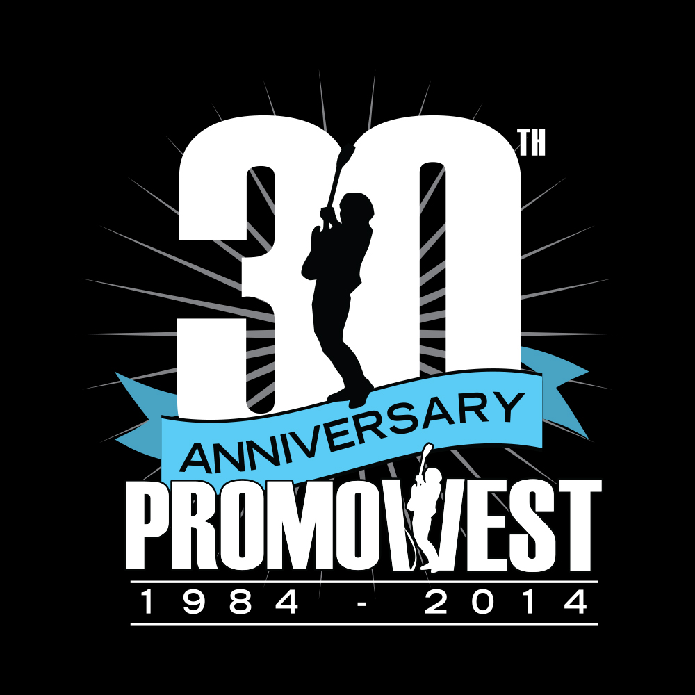 PromoWest Productions 30th Anniversary Logo | Matthew S. Fisher