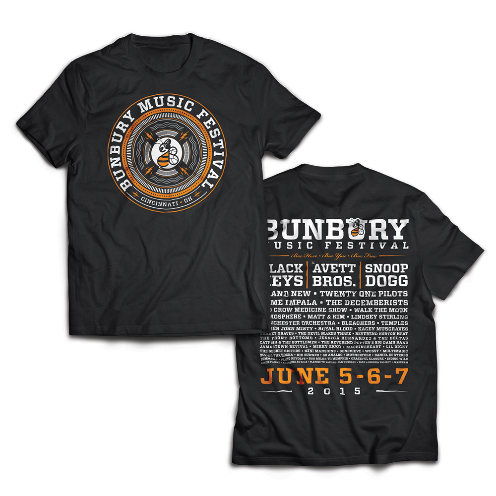Bunbury 2015 Event Tee