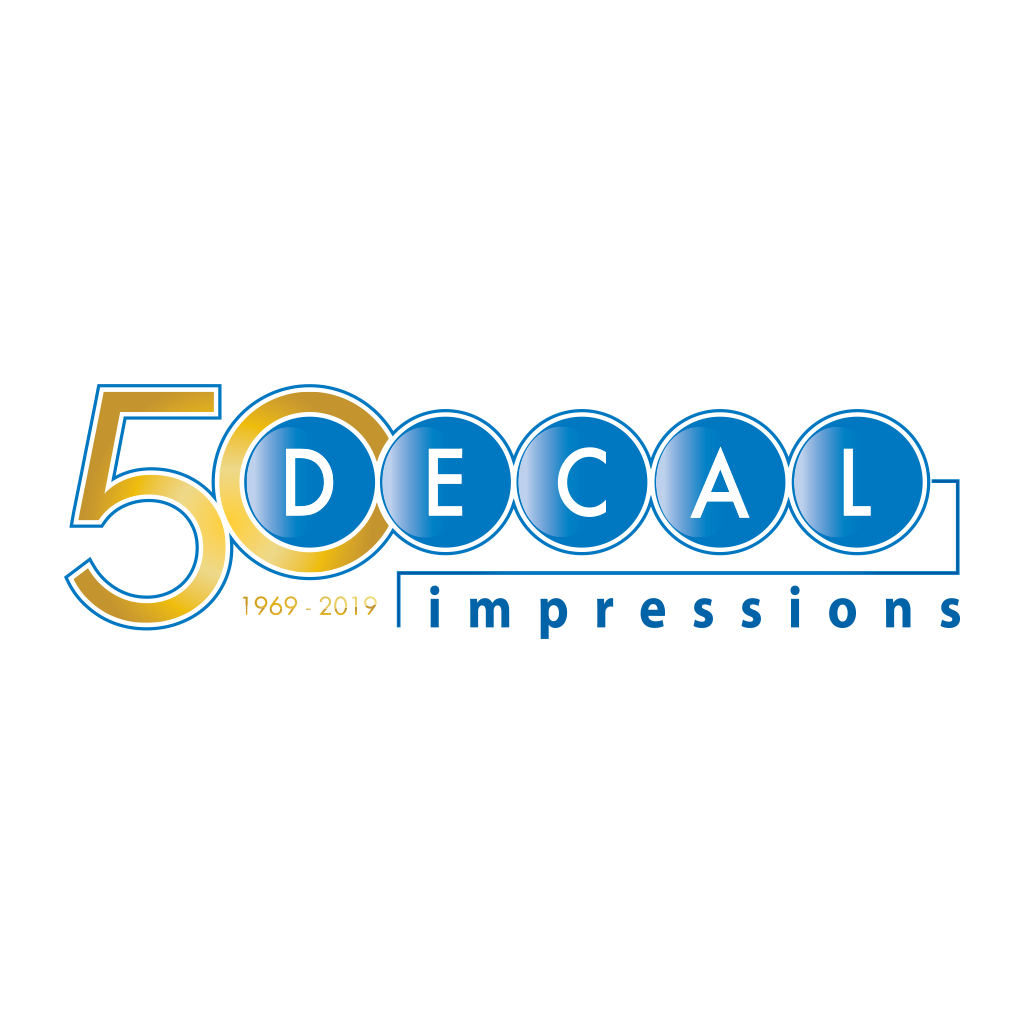 Decal Impressions 50th Anniversary Logo | Matthew S. Fisher