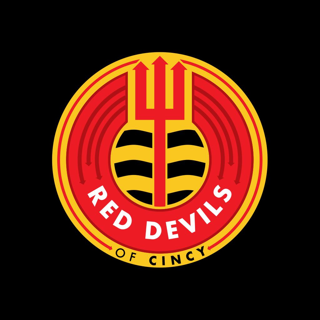 Red Devils of Cincy Logo | Matthew S. Fisher