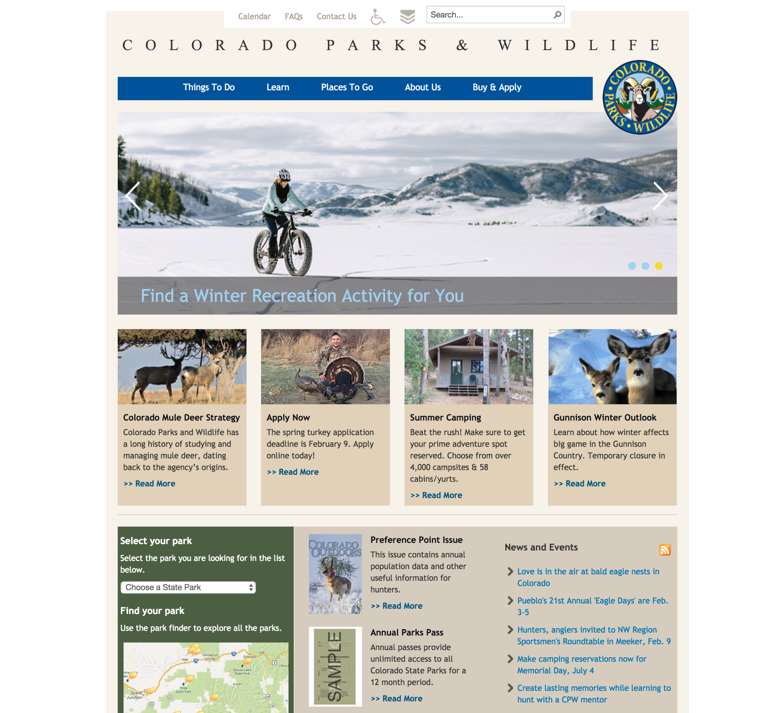 Colorado Parks & Wildlife, a partner of the Western Colorado Landscape Collaborative