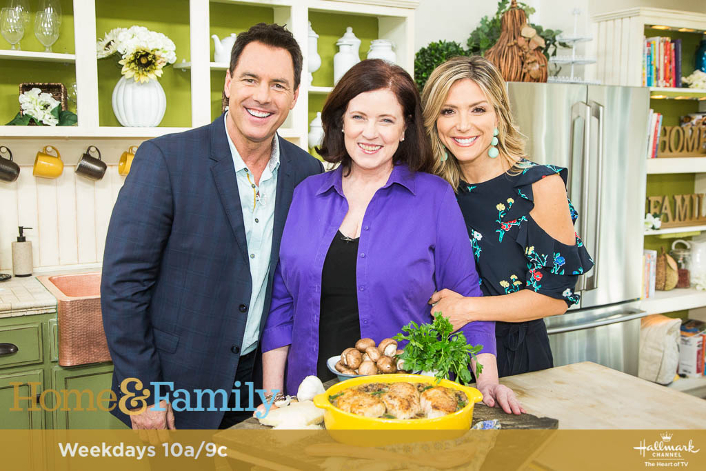 Chicken and Mushroom Casserole on Home and Family