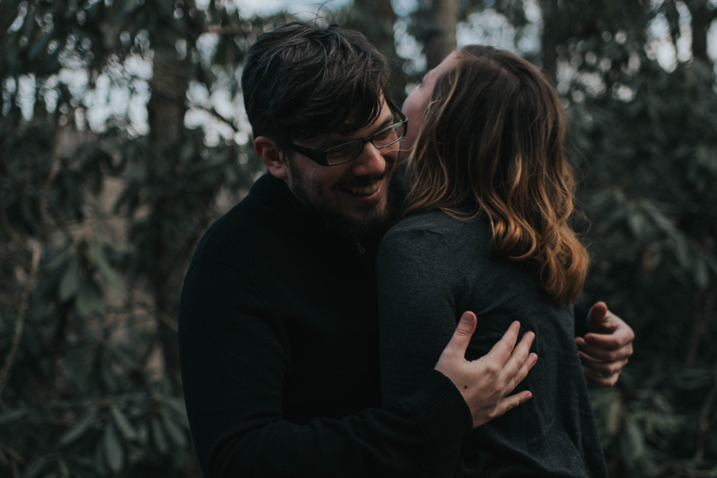 Adventure Engagement Session at Beauty Spot in Kingsport, Tennessee