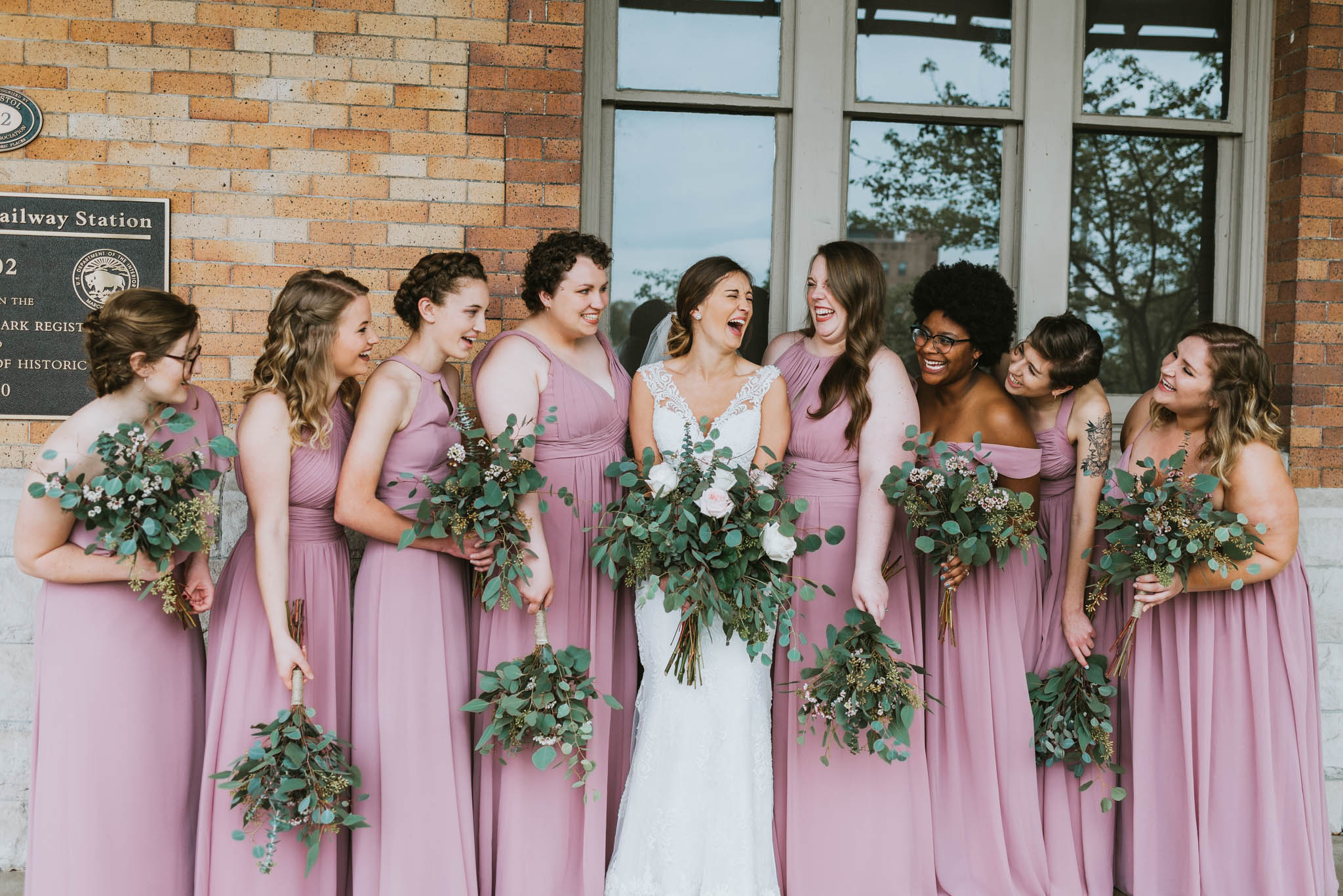 The Bristol Train Station Wedding, Bristol, TN, Northeast Tennessee Wedding Photographer, East Tennessee Wedding Photographer, Knoxville, TN Wedding Photographer