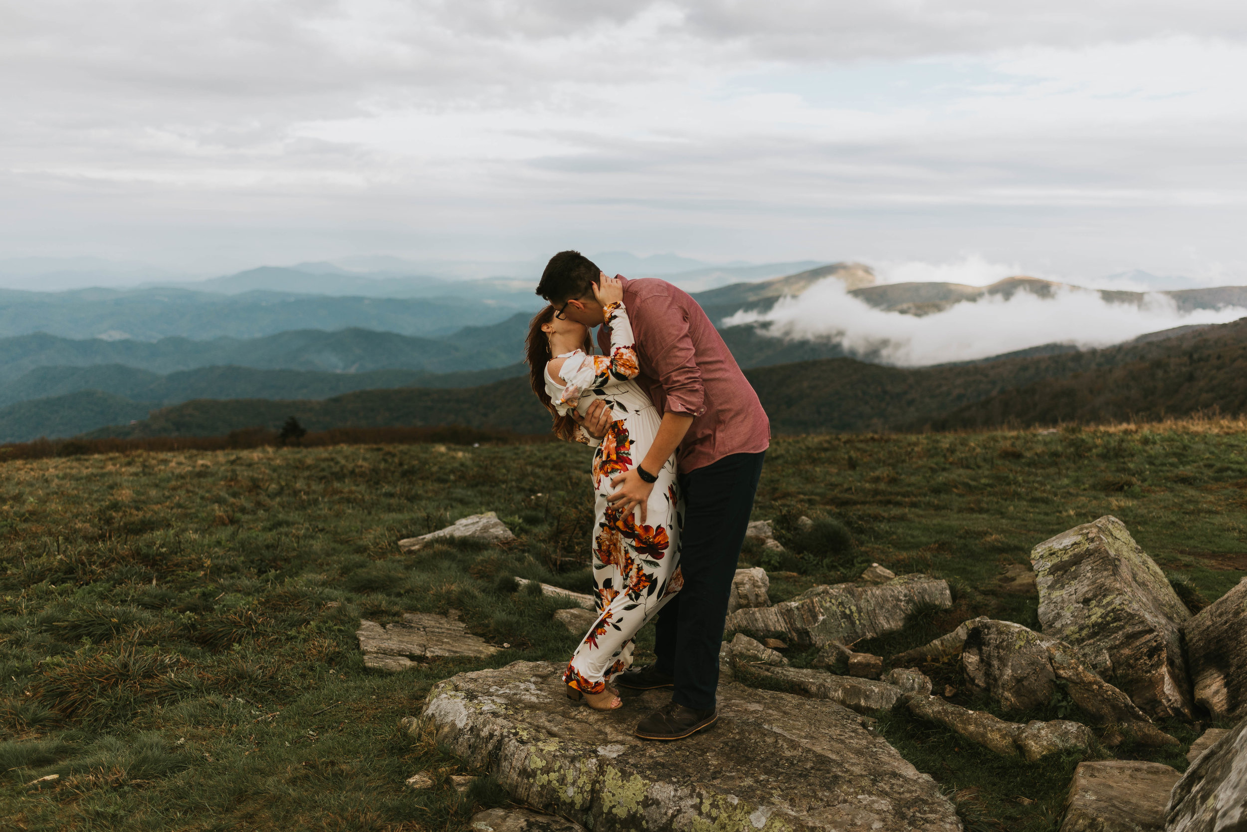 Roan Mountain Engagement Session, Northeast Tennessee Wedding Photography, East Tennessee Wedding Photography, Knoxville, Tennessee Wedding Photography