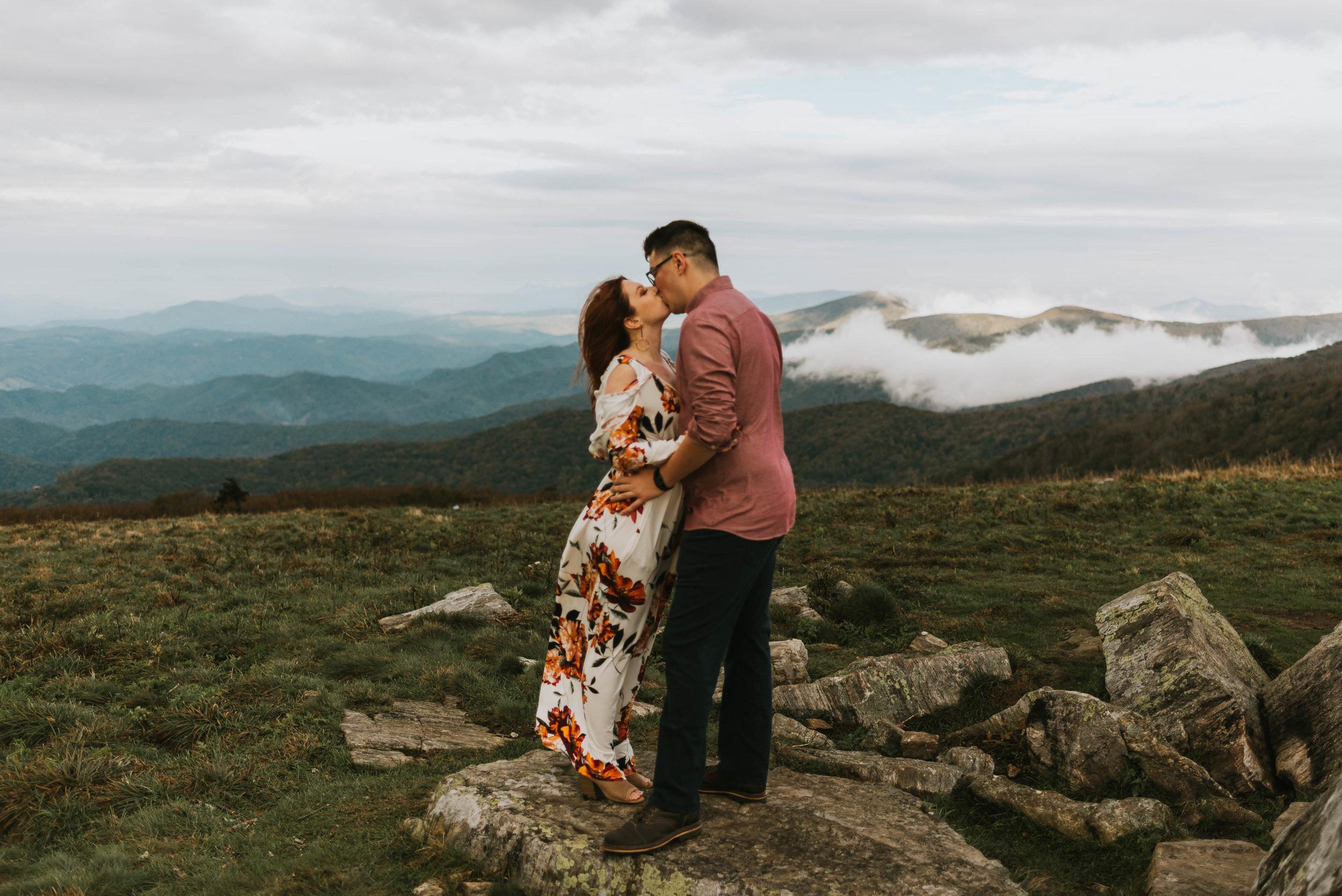 Roan Mountain Engagement Session, Roan Mountain Elopement, Roan Mountain Wedding Northeast Tennessee Wedding Photography, East Tennessee Wedding Photography, Knoxville, Tennessee Wedding Photography