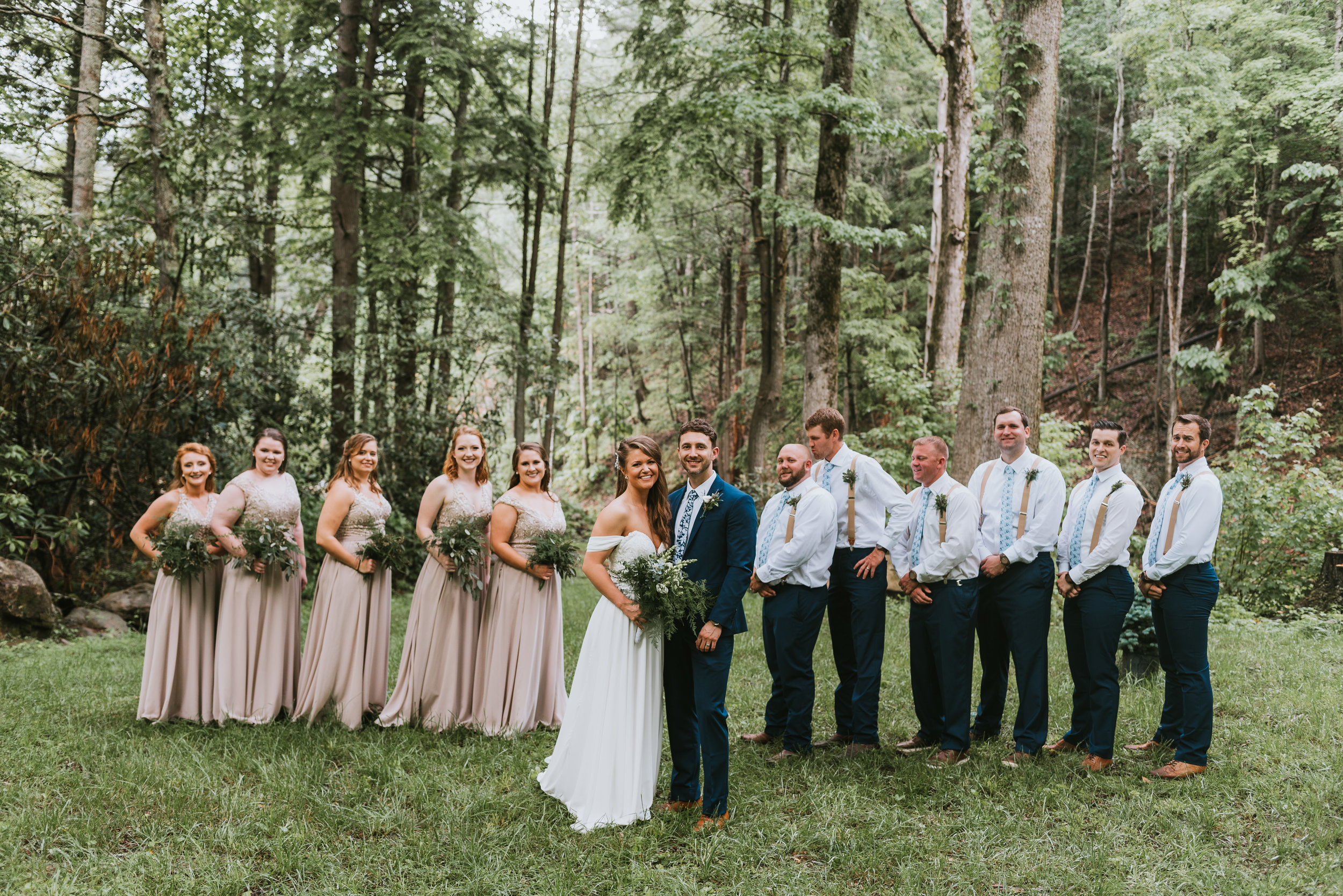 The Camp at Buffalo Mountain Wedding, Johnson City, TN, Northeast TN Wedding Photographer, East Tennessee Wedding Photographer, Knoxville, TN Wedding Photographer