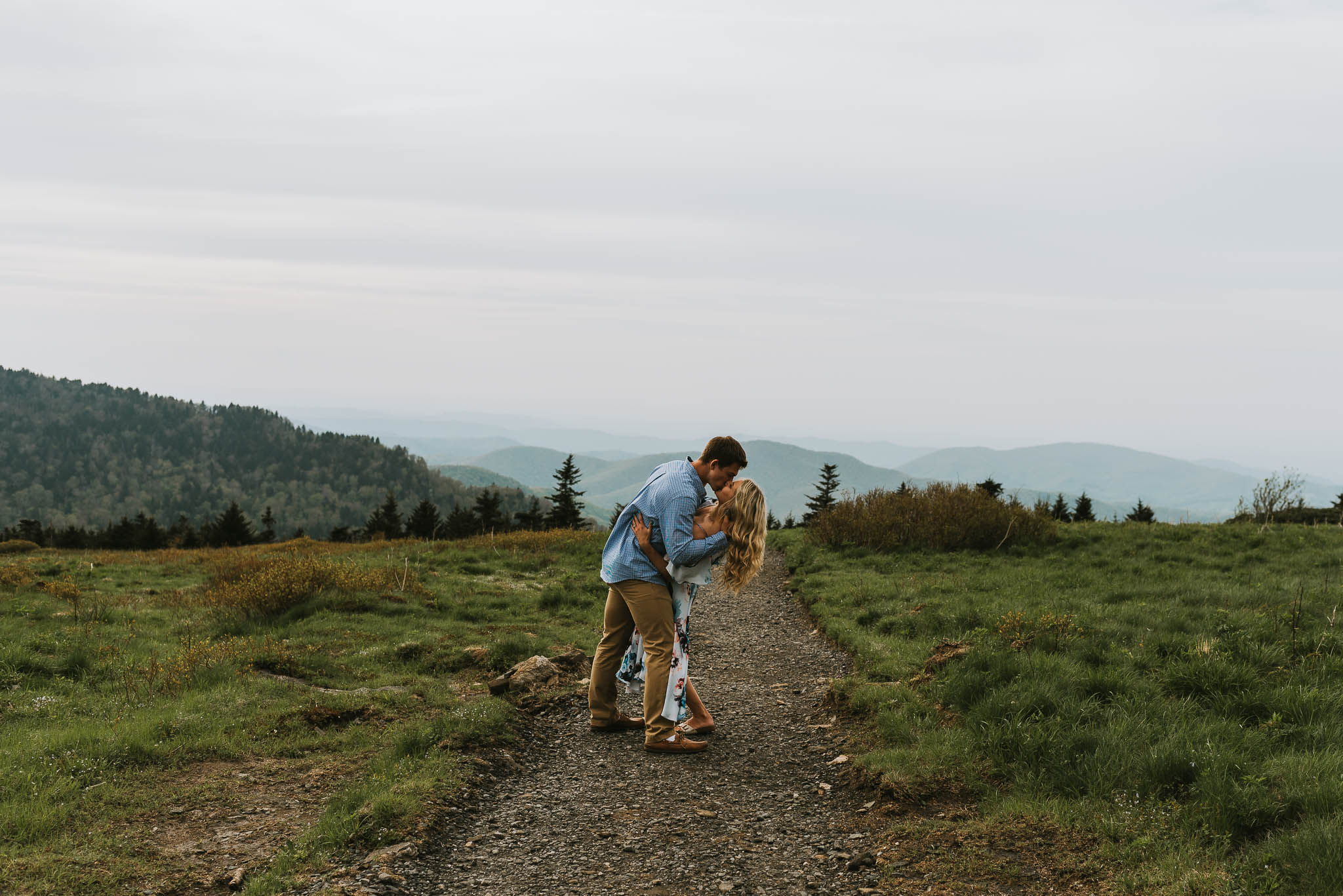 Roan Mountain Engagement Session Northeast Tennessee Wedding Photographers, East Tennessee Wedding Photographers, Kingsport, TN Wedding Photographers, Knoxville, TN Wedding Photographers (1 of 1)-18.jpg