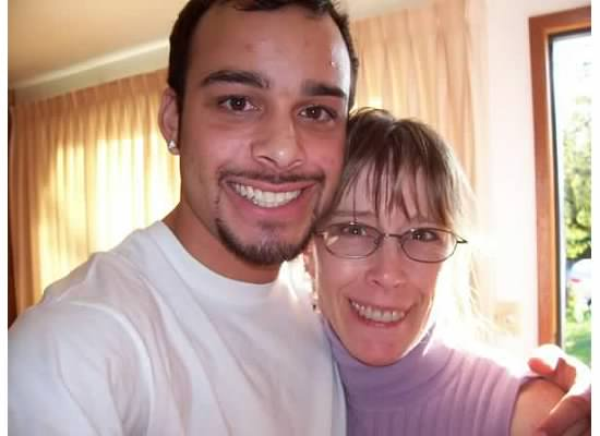 My brother Justin and Mom :)