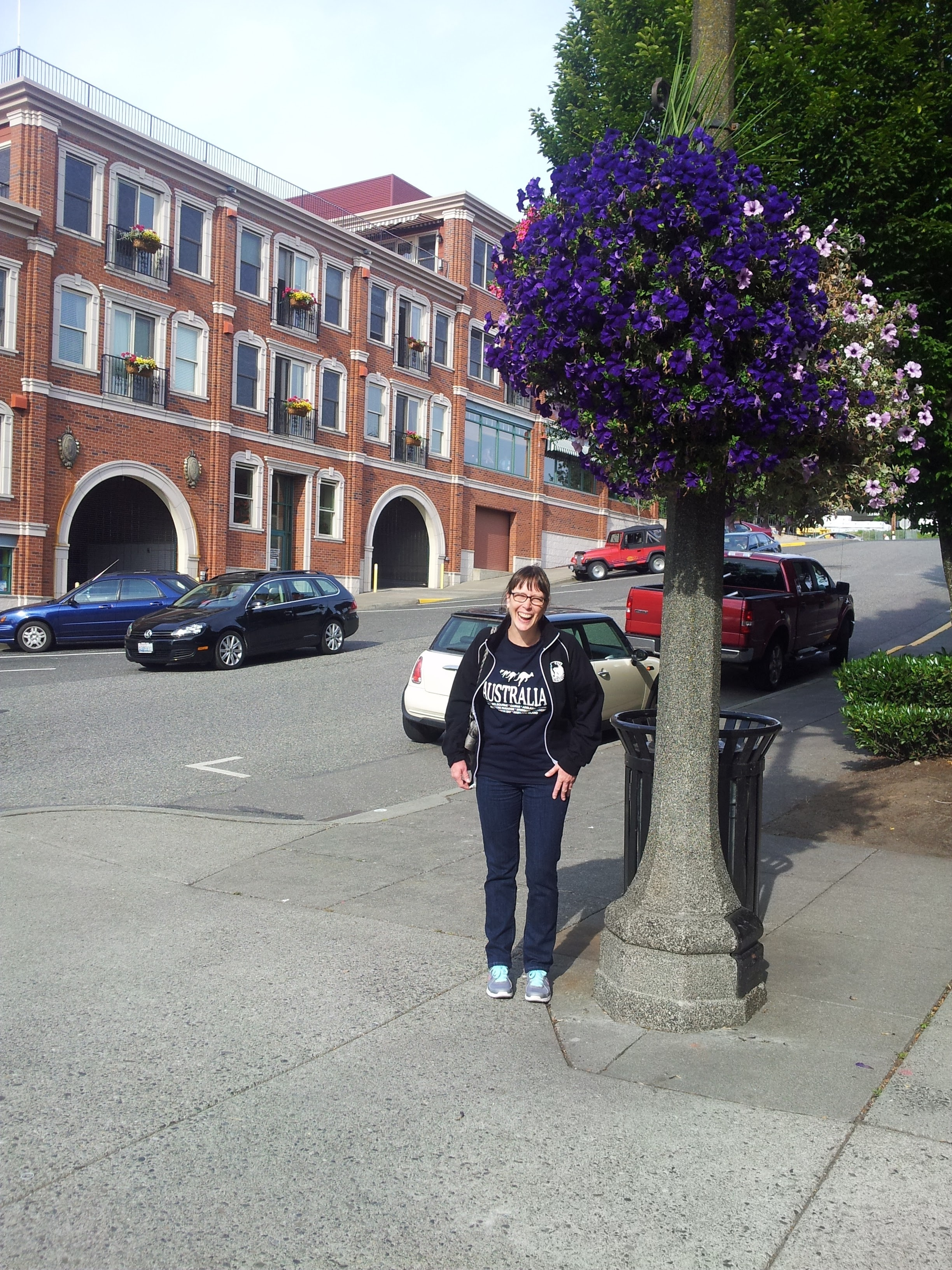 On a visit to one of our favorite cities, Bellingham, WA.
