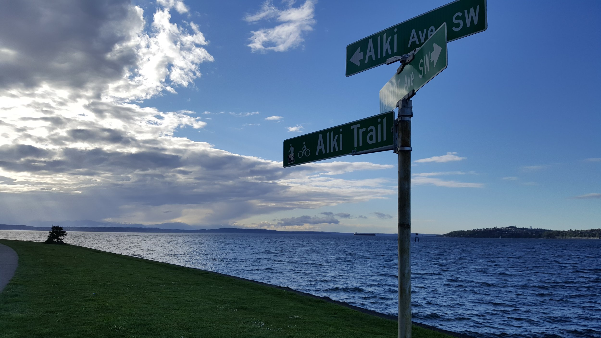 The settlers arrived in 1851. - You can learn more about Alki's history here