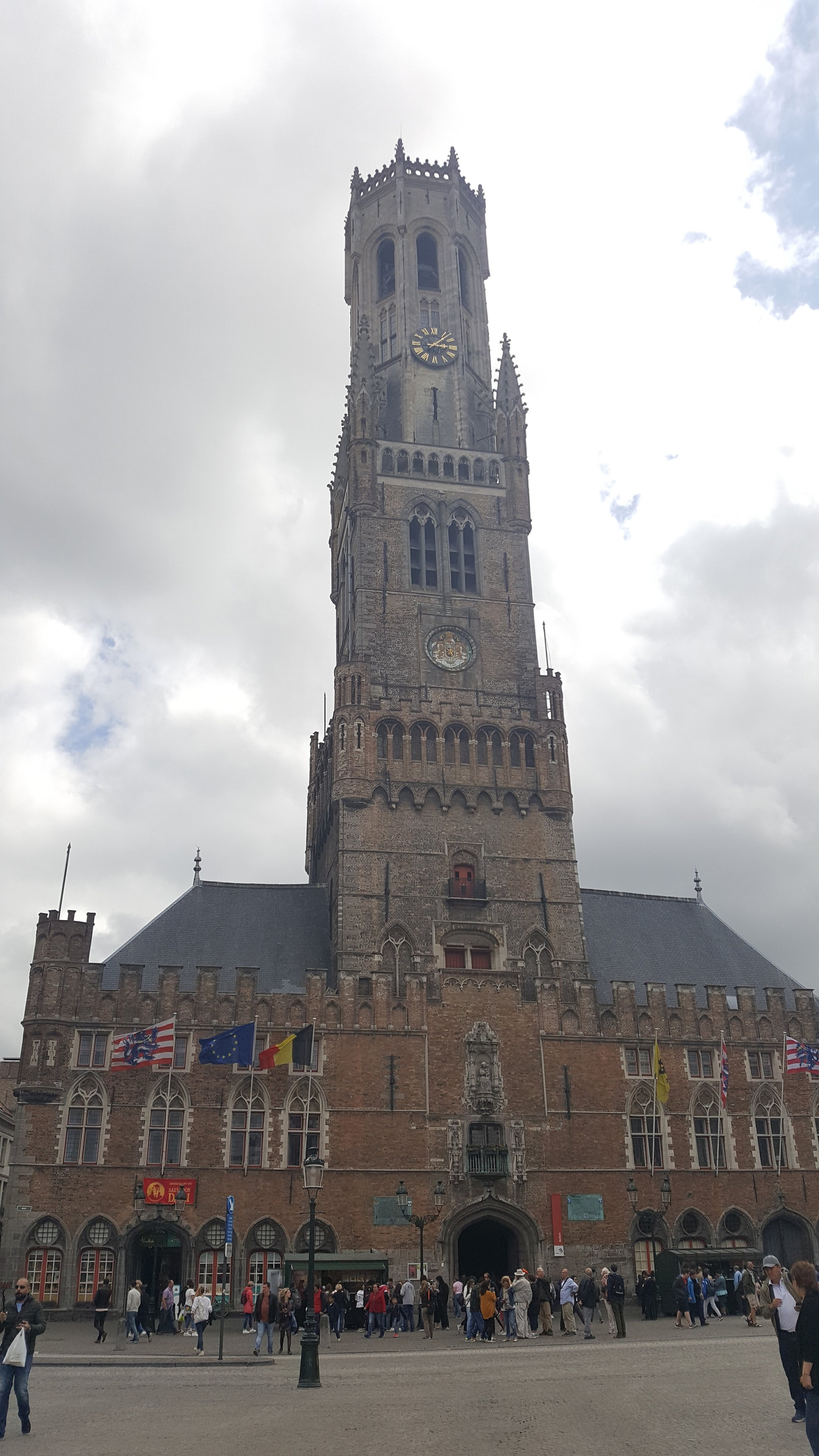 The Belfry & Halle: Take the 366 steps to the top of the tower for magnificent views of the square and further.