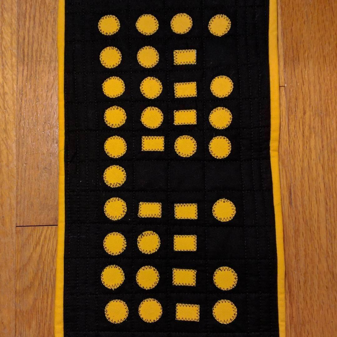 HufflePuff in Morse Code